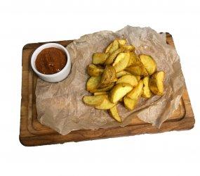 Картопля по-селянськи («Айдахо»)